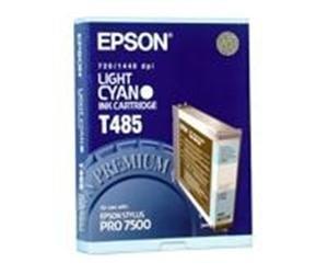 Epson T485 Lys Cyan