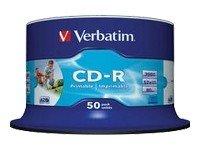 Verbatim CD-R 52x 80min 700MB Print 50