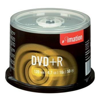 Imation DVD+R 16x 4,7GB 50 stk.