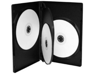 DVD-Cover for 4 Plater