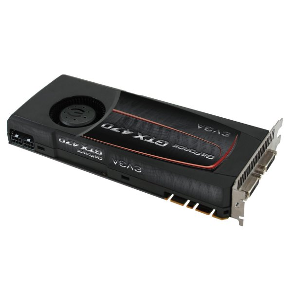 EVGA GeForce GTX 470 1280 MB SuperClocked