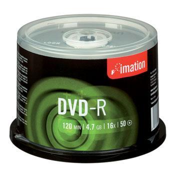 Imation DVD-R 16x 4,7GB 50stk Spindle