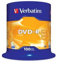 Verbatim DVD-R 16x 4,7GB 100 stk.