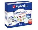 Verbatim DVD-R Securesave 5 stk. Jewel Case
