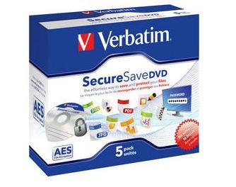 Verbatim DVD-R Securesave 5 stk. Jewel Case