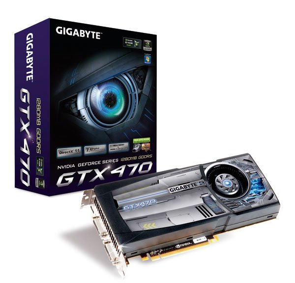 Gigabyte GeForce GTX 470 1280 MB