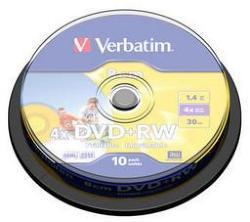 Verbatim DVD+RW 1,4 GB 8cm hardcoated