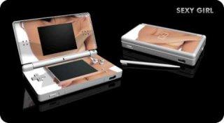 Nintendo DS Lite Skin - Sexy Girl