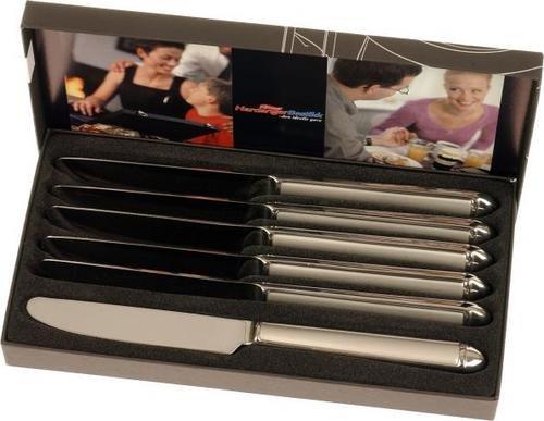 Hardanger Bestikk Nora spisekniver 6 stk