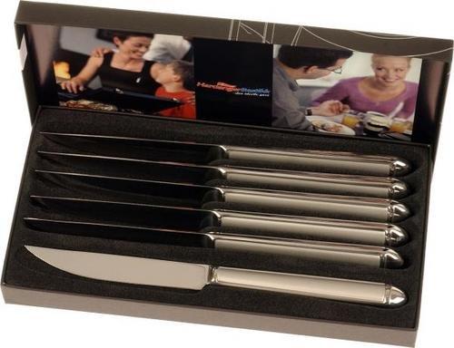 Hardanger Bestikk Nora biffkniver 6 stk
