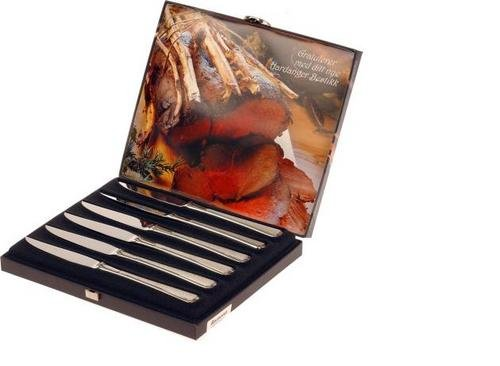 Hardanger Bestikk Ramona biffkniver 6 stk