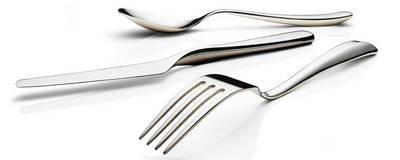 Hardanger Bestikk Tuva Spisekniver 6 stk