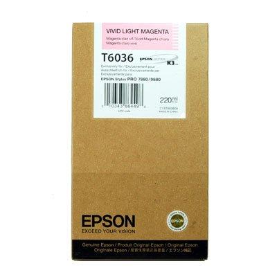Epson T6036 Livlig Lys Magenta