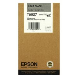 Epson T6037 Lys Svart