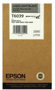 Epson T6039 Lysesvart