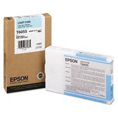 Epson T6055 Lys Cyan