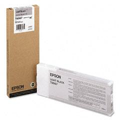 Epson T6067 Lys Svart