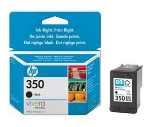 HP no.350 Svart