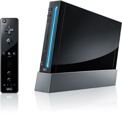 Nintendo Wii Limited Edition black