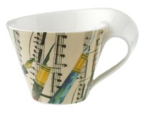 Villeroy & Boch New Wave Office White coffee cup