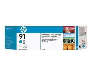 HP no.91 Pigmentert Cyan