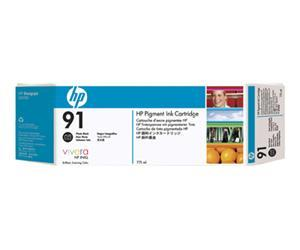 HP no.91 Pigmentert Fotosvart