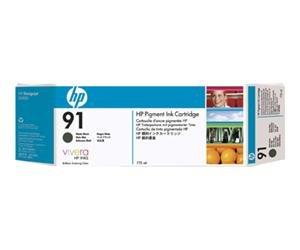 HP no.91 Pigmentert Matt Svart