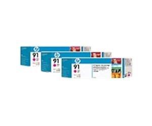 HP no.91 3-pack - Magenta