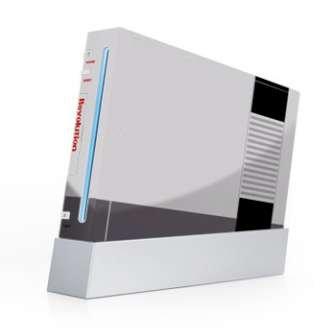 Nintendo Wii Skin - Retro Revolution