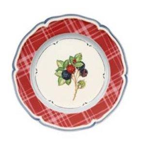 Villeroy & Boch Cottage plate blackberry red