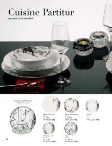 Porsgrund Cuisine Partitur tallerken 22 cm