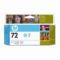 HP no.72 Cyan - Stor