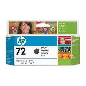 HP no.72 Matt Svart - Stor