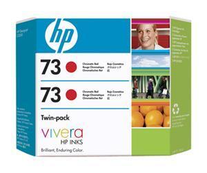 HP no.73 Twin Pack - Kromatisk Rød