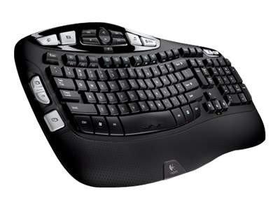 Logitech Wireless Keyboard K350 tastatur Nordisk | Multicom