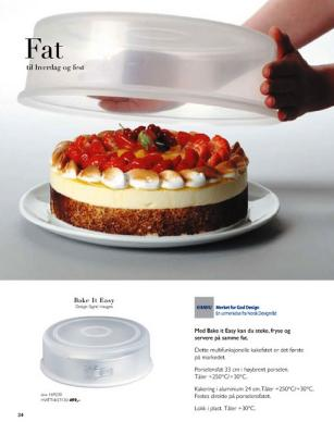 Porsgrund Bake It Easy Kakefat