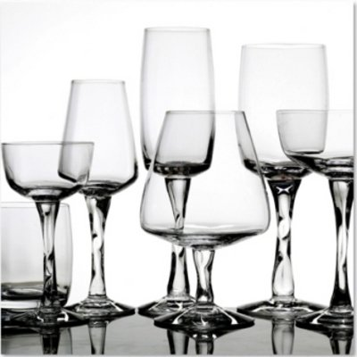 Magnor Glassverk Peacock rødvin 30 cl