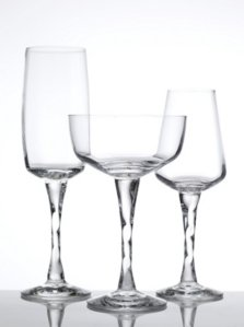 Magnor Glassverk Peacock champagneskål 13 cl