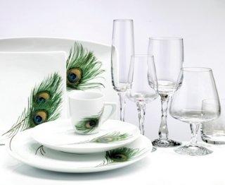 Magnor Glassverk Peacock champagne 18 cl