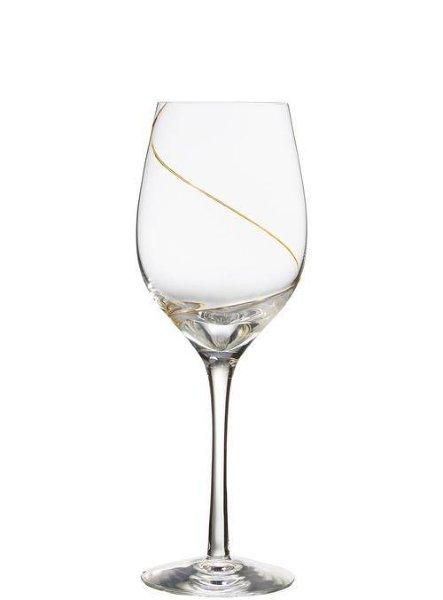 Kosta Boda Line Wine XL gold, 30 cl