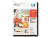 HP Papir Premium Photo Glossy 20 stk 10x15