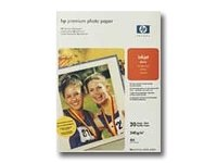 HP Papir Premium Photo 20 stk A4 glanset