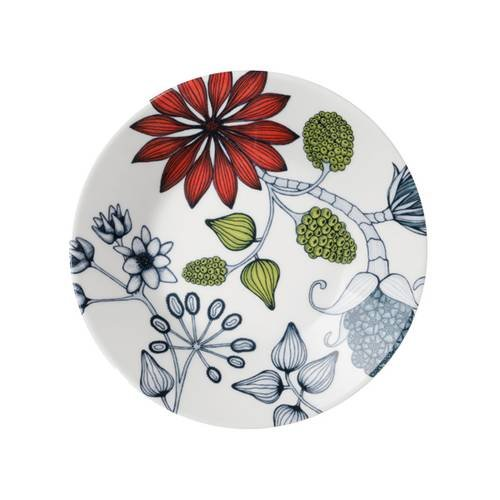 Arabia Finnland Arabia Runo plate 16,5 cm, Summer Ray skål til kopp