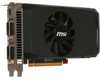 MSI GeForce GTX 460 768 MB