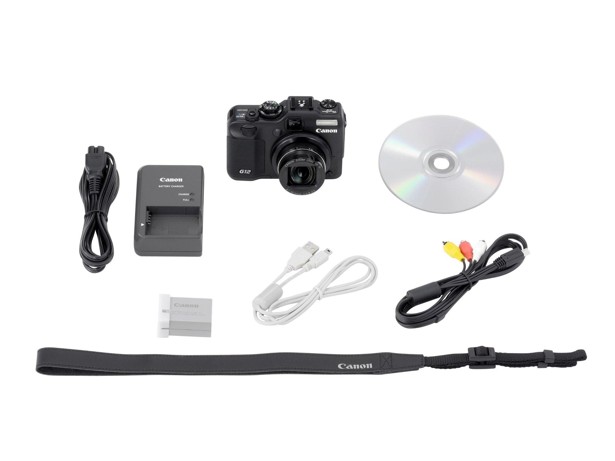 Canon PowerShot G12 Batteri & Lader