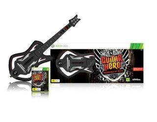 Guitar Hero: Warriors of Rock (med gitar) til Xbox 360