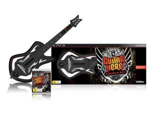 Guitar Hero: Warriors of Rock (med gitar) til PlayStation 3