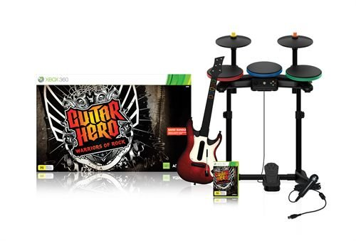 Guitar Hero: Warriors of Rock (Superbundle) til Xbox 360