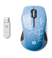 HP Wireless Comfort Mouse Water Lily