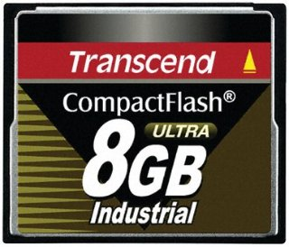 Transcend Industrial CompactFlash Ultra 8 GB